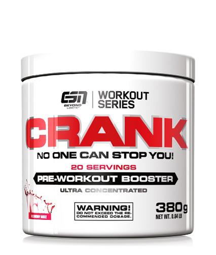 ESN CRANK, Pre Workout Booster, 380g - Direkt vom Hersteller!